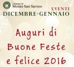 Eventi Natale 2015 - Comune di Monte San Savino