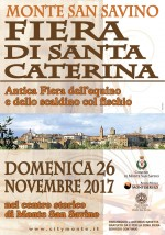 Fiera di Santa Caterina 2017
