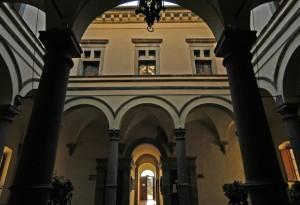 Chiostro Palazzo Comunale - Monte San Savino